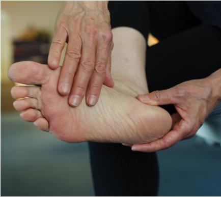 check diabetic feet daily