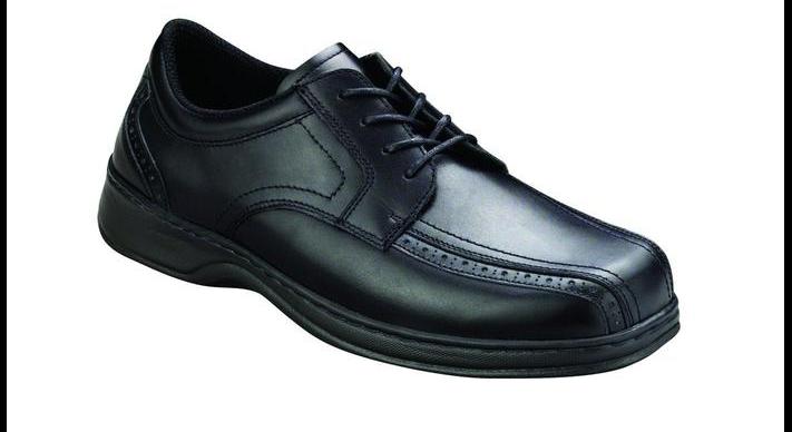 Plantar Fasciitis, Orthopedic, Best, Dress Men's Shoe Gramercy Black