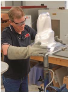 Check-socket-prosthetic-fabrication